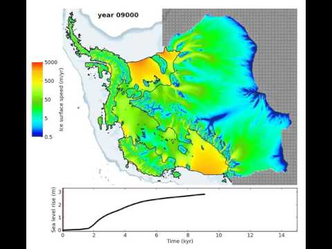Model simulation of loss of entire West Antarctic Ice Sheet