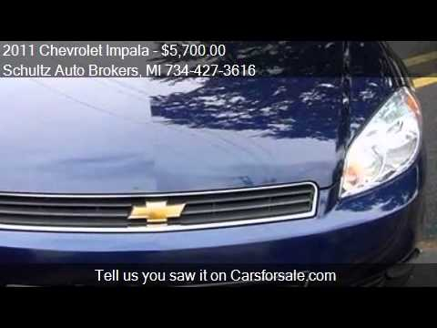 2011 Chevrolet Impala for sale in Livonia, MI 48150 at the S