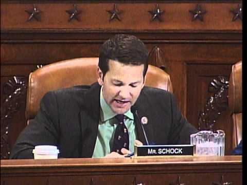 Schock Questions U.S. Trade Representative Ron Kirk during Ways and Means Hearing