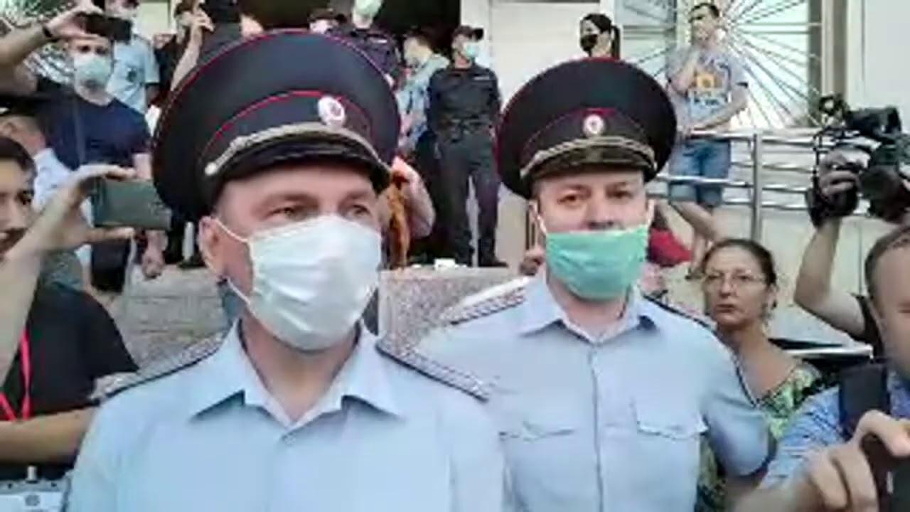 ⭕️ Главный полицейский Хабаровска о политике государства
