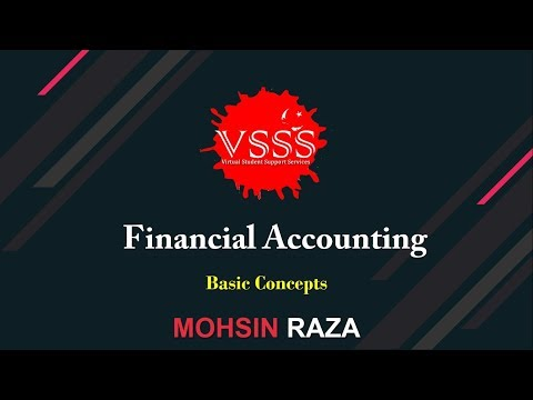 Financial Accounting Course 2019 - Introduction Lesson 01 by Mohsin Raza in Urdu Hindi