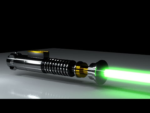 how to make a lightsaber in final cut pro x