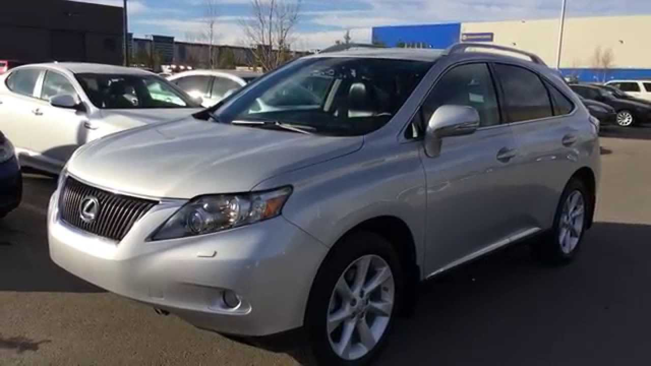 Lexus Certified Pre Owned Silver 2012 Rx 350 Awd Touring