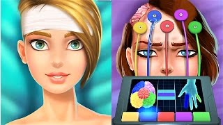 """Fun Doctor Games """"Brain Surgery Simulator"""" Real Doctor And Surgical Tools - Gameplay Video"""