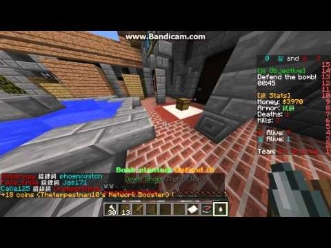A game of CvC without the texture pack