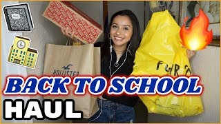 HUGE BACK TO SCHOOL TRY ON HAUL!!