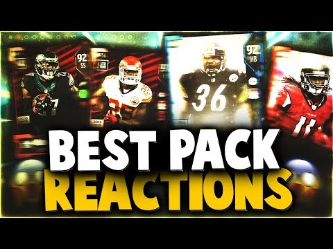 THIS WAS INSANE! THE VERY BEST MADDEN 18 PACK OPENING REACTIONS OF THE WEEK! EPISODE #2
