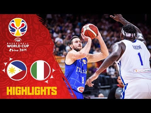 Philippines v Italy - Highlights - FIBA Basketball World Cup 2019