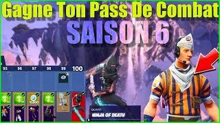 LIVE FORTNITE GAGNE TON PASS OF COMBAT SAISON 6 / GO TOP 1 ON FORTNITE BATTLE ROYALE