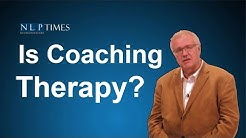 NLP Coaching: Is coaching therapy?