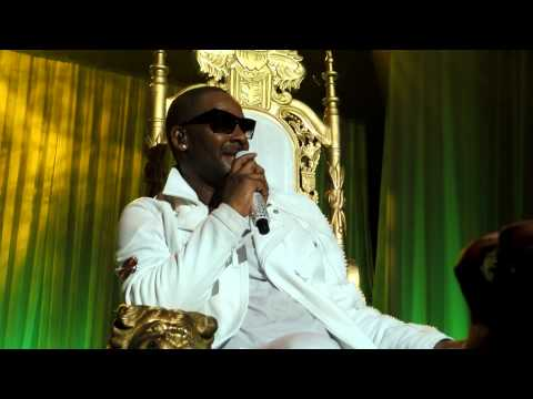 R. Kelly - Wind For Me & Slow Wind Contest, R&B Thug - Columbia, SC 10/14/2012 - Township Auditorium