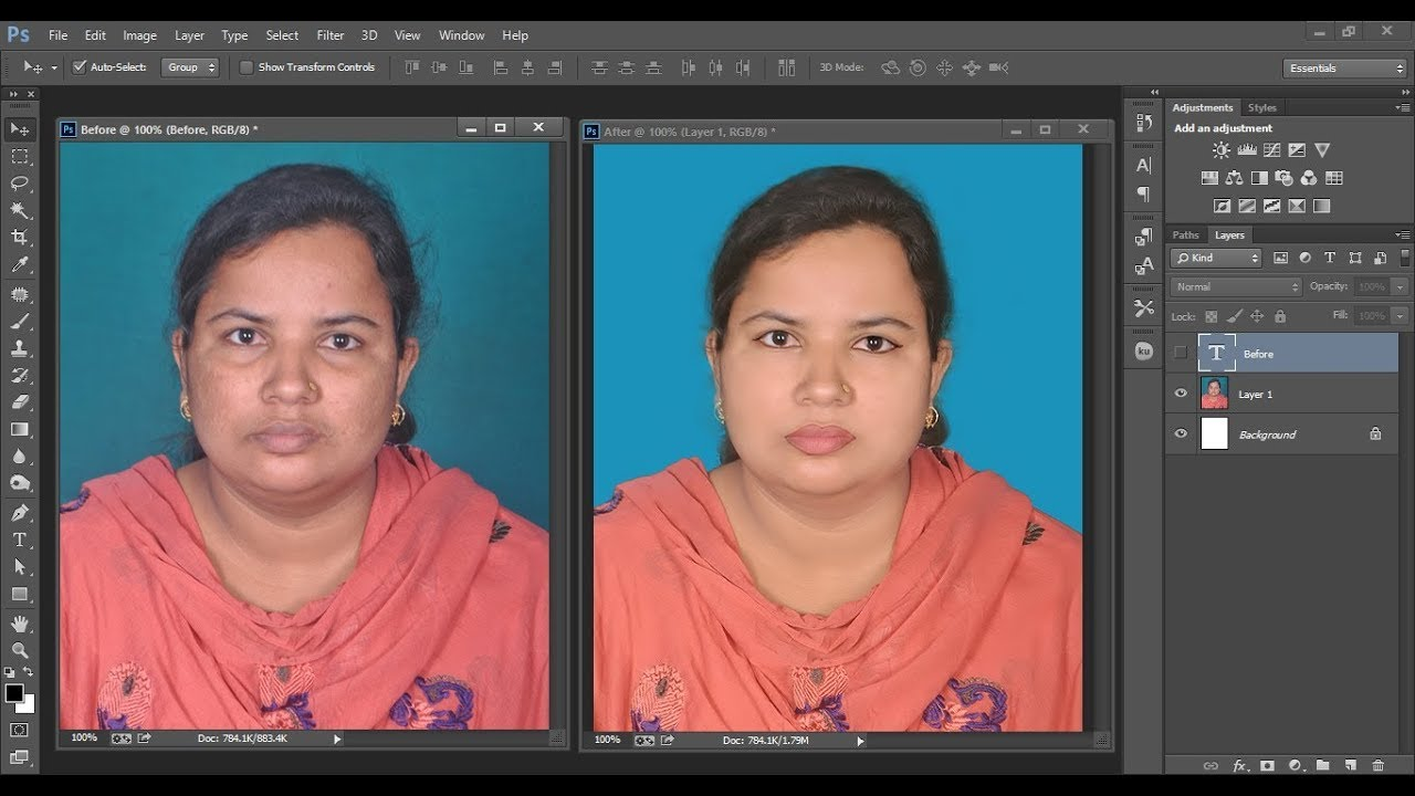 How to Reduce Photo Size Less than 20 KB / 10 kb / 100 KB part2 - YouTube