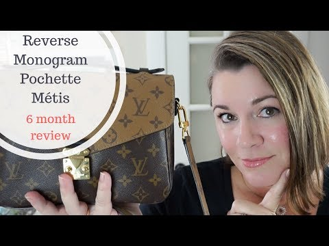 Pochette Métis Reverse Monogram - 6 Month Review & what's in my bag
