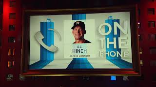 Astros Manager A.J. Hinch on the Science of Resting Players | The Rich Eisen Show | 6/22/18