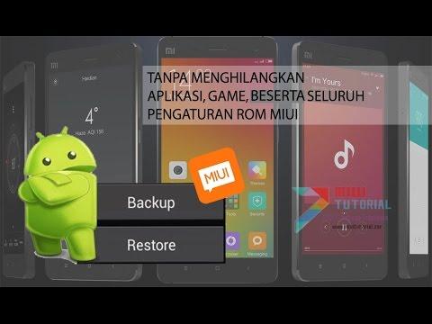 Cara Mudah Install Rom Miui Xiaomi Tanpa Harus Kehilangan Aplikasi, Game dan Segala Pengaturannya