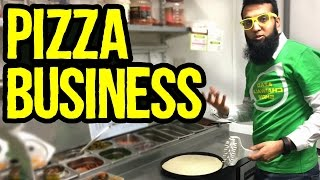 Pizza Business in Pakistan - Tour Of Pizza Restaurant | Azad Chaiwala Show