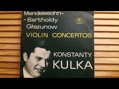 F  Mendelssohn Bartholdy Koncert skrzypcowy e moll op 64