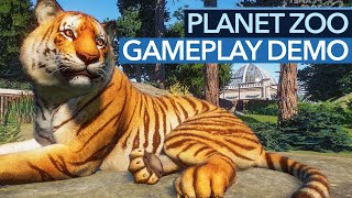 Planet Zoo sieht immer besser aus - Gameplay Preview