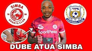 """Alichokisema Prince Dube Atoa Tamko Zito Baada Kuondoka Azam Fc Kusajiliwa Simba """"Nimefurahi"""