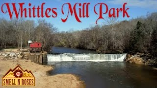 Whittles Mill Park on Meherrin River in South Hill, Virginia
