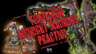 Warmachine & Hordes - Trollbloods (PMadrak) vs. Cryx (Terminus) - 25pt Death Race Battle Report
