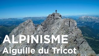 Arête du Tricot intégrale Traversée Aiguille de Bionnassay Mont-Blanc alpinisme - 11317