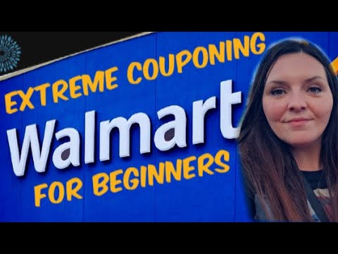 How To Extreme Coupon at Walmart for Beginners