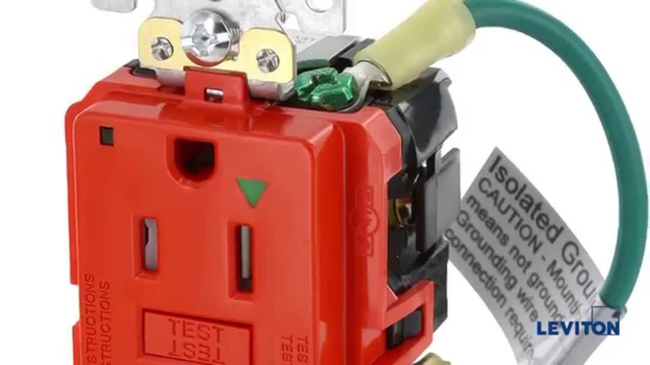 maxresdefault isolated ground gfci receptacles youtube ig receptacle wiring diagram at bakdesigns.co