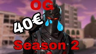Fortnite account for sale OG Season 2 for 40€
