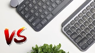 Logitech MX Keys vs Logitech Craft