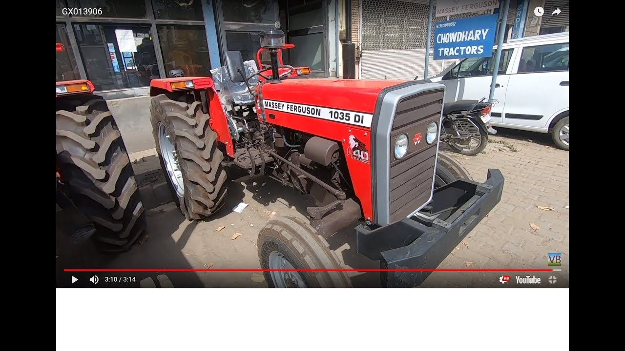 Massey 1035 DI tractor full feature & specifications