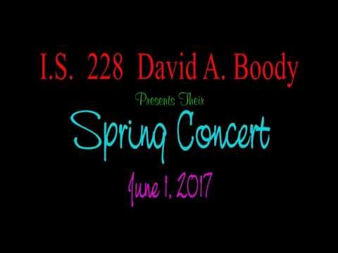 Boody Spring Concert 2017