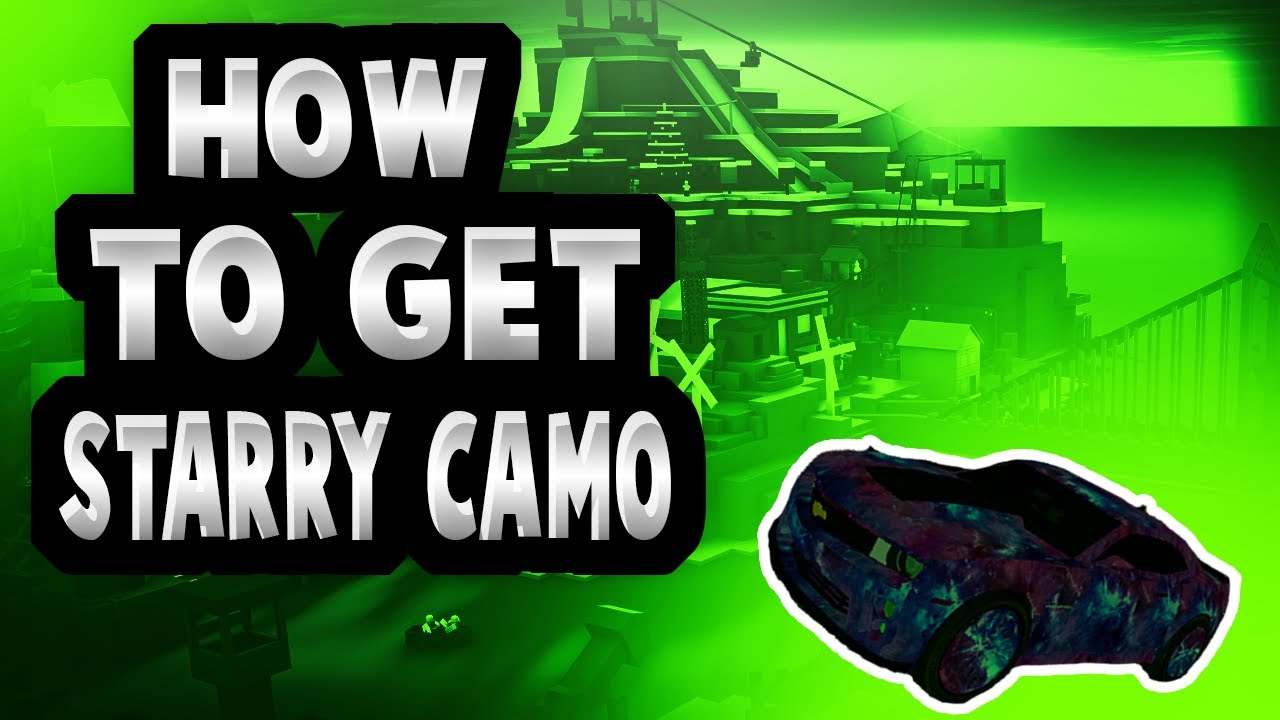 [ROBLOX: Vehicle Simulator ] - How to get the Starry Camo +Codes #2