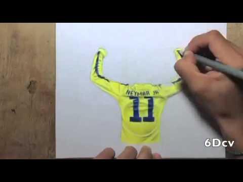 Como Dibujar A Neymar Jr
