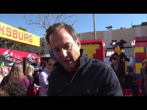 """The Lego Movie: Will Arnett """"Batman"""" Movie Premiere Interview"""