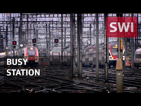 Zurich: The heart of the Swiss railways