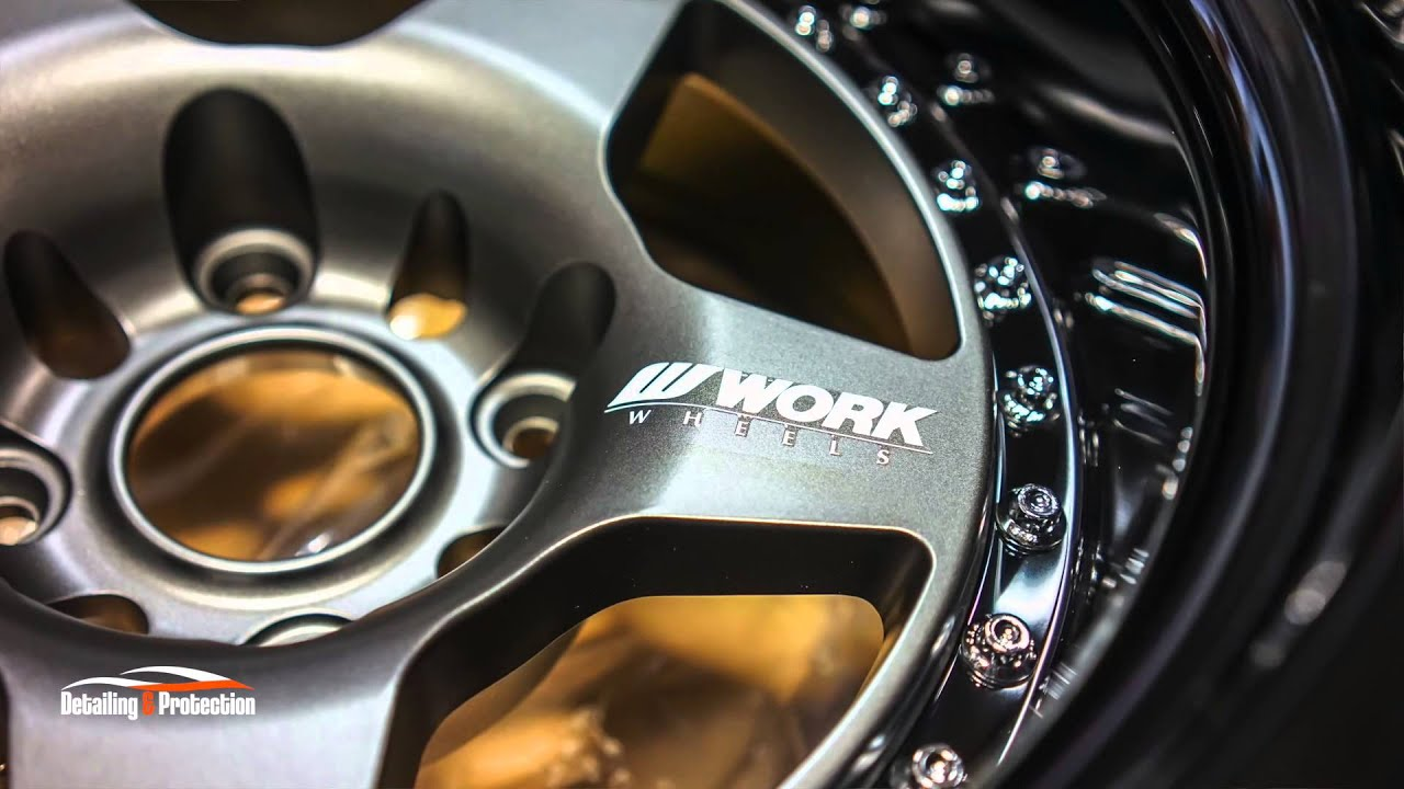 New Honda Civic >> WORK Meister CR01 Protected by Ceramic Pro Wheels and Caliper Coating | Carzwerk | - YouTube