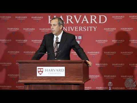 Lawrence Bacow to Serve as Harvard University's Next President