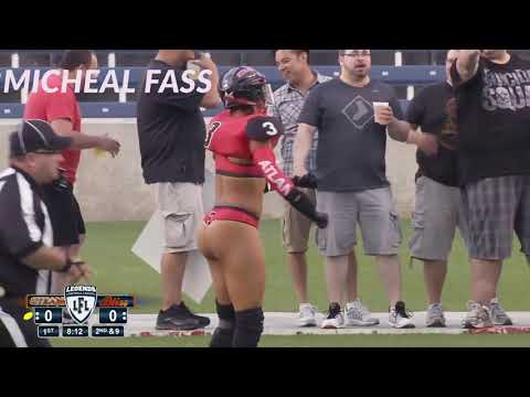 Adrian Purnell Queen Of The Lingerie Bowl - Legends Football League