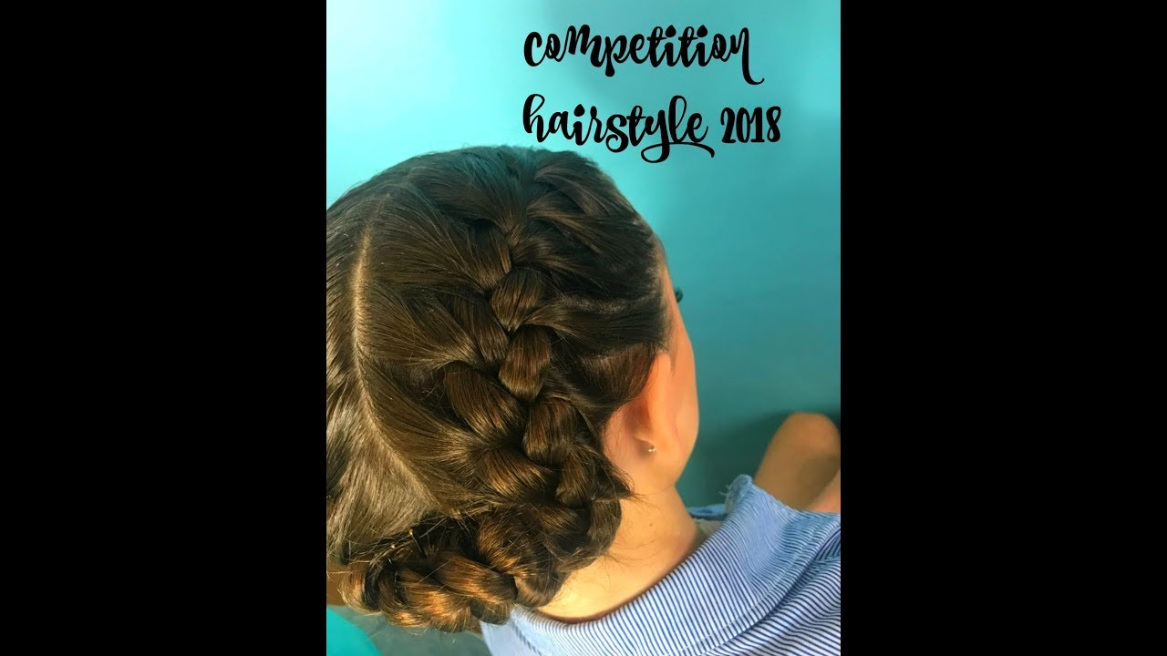 Tutterow Dance Academy Competition Hairstyle 2018 Youtube