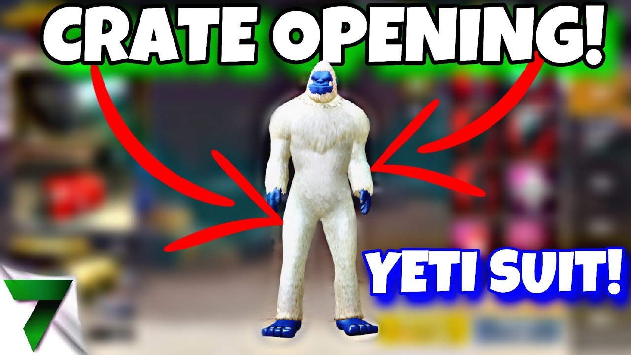 Yeti Suit Crate Opening In Pubg Mobile Youtube