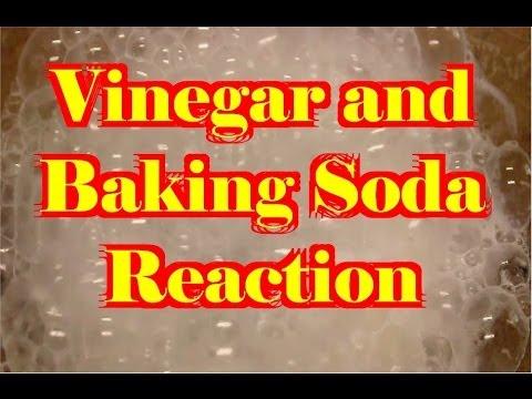 vinegar and baking soda reaction video youtube. Black Bedroom Furniture Sets. Home Design Ideas