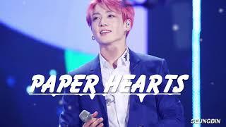 Скачать Jung Kook Paper Hearts COVER