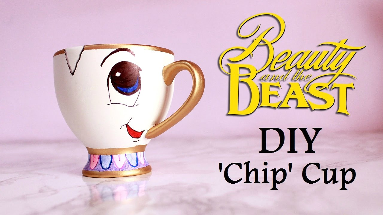 Beauty And The Beast Chip Cup DIY 'Chip' Cup | BEAUT...