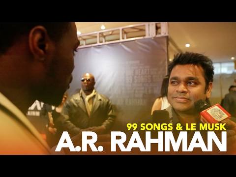 AR RAHMAN in TORONTO  Launch of 99 Songs & Le Musk  Ideal Entertainment