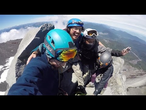 Volcn Calbuco - Ascenso hasta la Cumbre