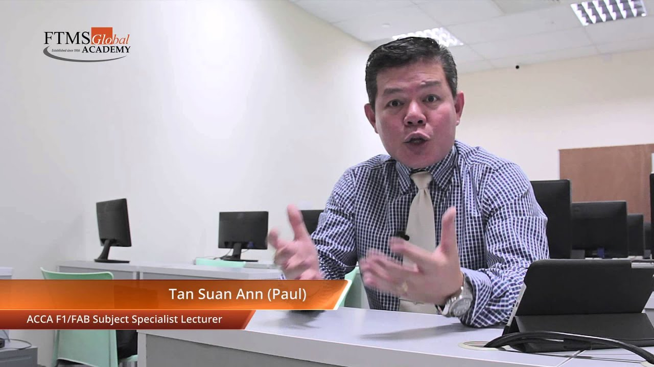 ACCA F1 Exam Format Changes 2014 by Subject Specialist Paul Tan