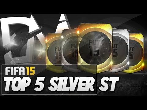 Top 5 Best Silver Strikers in FIFA 15 Ultimate Team  - Guide to Best Squad (FUT 15)
