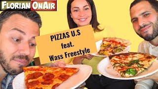 Un spot de PIZZAS AMERICAINES avec Wass Freestyle - VLOG #872