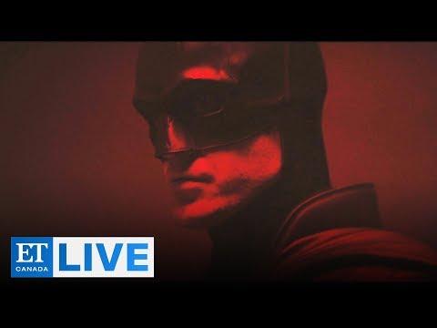 First Look At Robert Pattinson As Batman | ET Canada LIVE